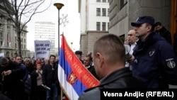 Protest ratnih veterana Srbije