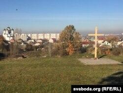 Крыж памяці ахвярам сталінскіх рэпрэсіяў