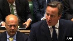 Дэвид Кэмерон выступает в Палате общин британского парламента, июнь 2015 года