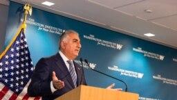 Washington - Prince Reza Pahlavi speaking at the Washington Institute. Dec. 14, 2018