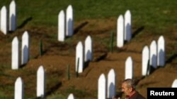Кладбище в Сребренице