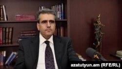 Председатель Кассационного суда Ерванд Хундкарян, Ереван, 24 мая 2019 г.