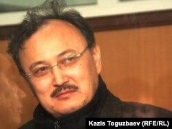 Саят Ыбыраев, сотталған сопылық ағым жетекшілерінің бірі, ҚазҰТУ профессоры. Алматы. 19 қазан 2011 жыл