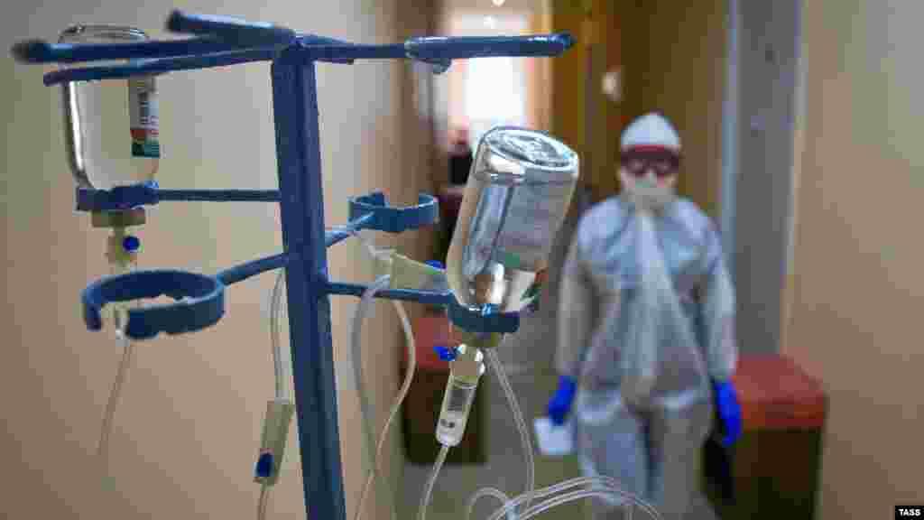 По последним данным, в санатории проходят лечение 135 человек, всего есть 152 койки