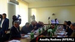 Əli Abbasovun qəbulunda - 19 aprel 2014