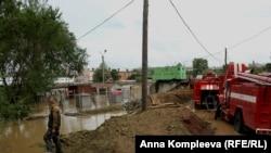Роботи по захисту від повені у Хабаровську, 24 серпня 2013 року
