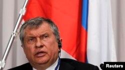 Глава российской компании «Роснефть» Игорь Сечин