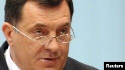 Претседателот на Република Српска Милорад Додик.