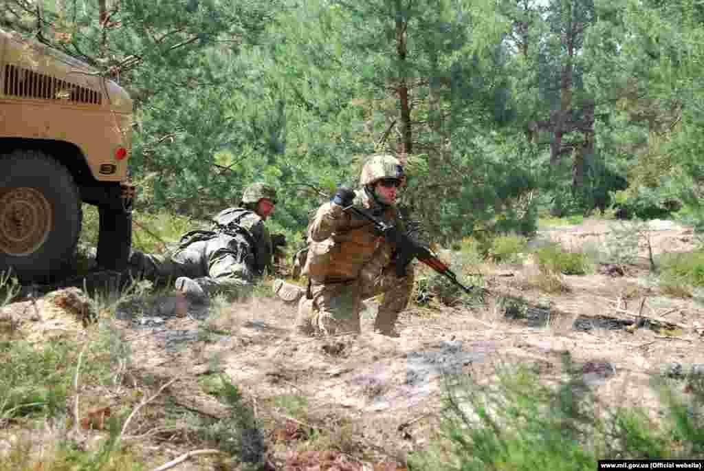 Завдяки добре скоординованим діям польські піхотинці і українські десантники на «хамерах» швидко вийшли у фланг і тил атакуючого підрозділу