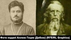 Священики Григорій Радецький (ліворуч) та Іван Каневський (праворуч)