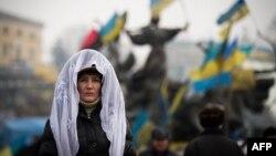 Киев, Евромайдан, 9 февраля