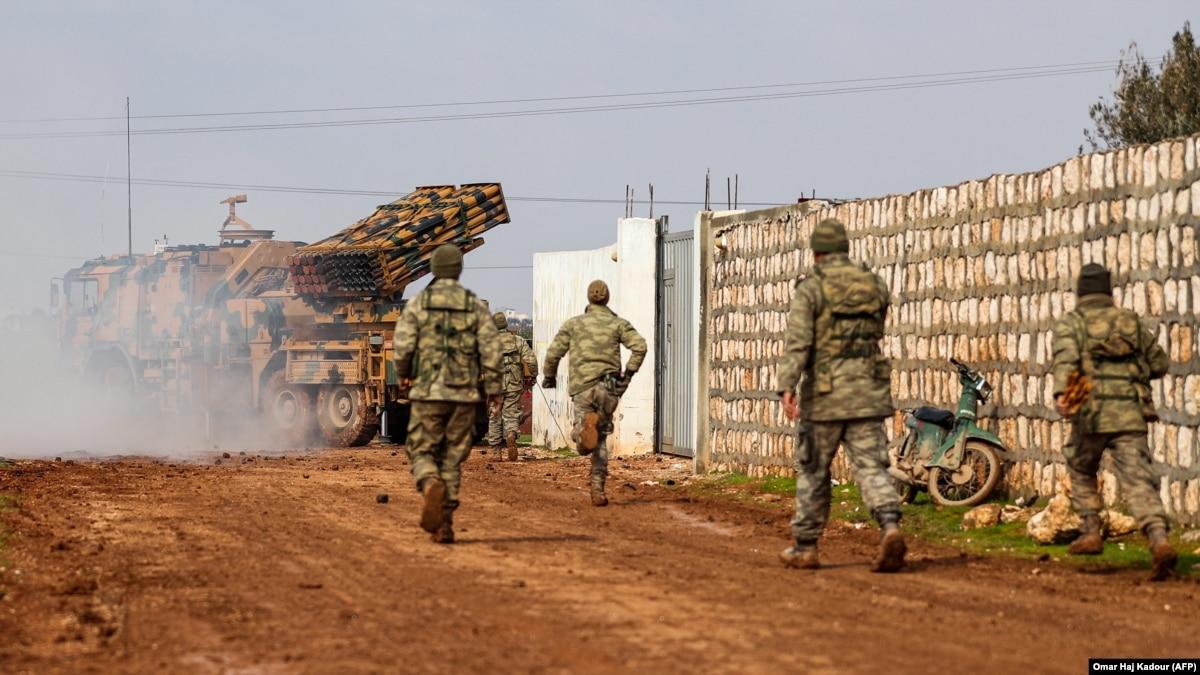 Турция перебрасывает войска специального назначения до Идлиба
