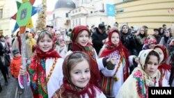 Рождественское шествие во Львове. Архивное фото