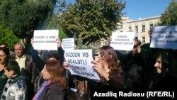 22 октября. Акция протеста перед Администрацией Президента