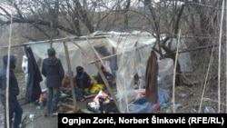Azilanti u dviljem kampu kod Subotice