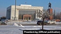 Бишкек шаары. Архивдик сүрөт.