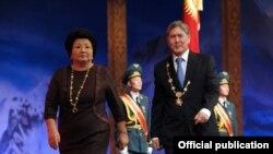 Президент Атамбаевдин кызматка киришүү учуру. 1-декабрь, 2011-жыл