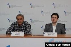 Яромир Вашек в Луганском информационном центре