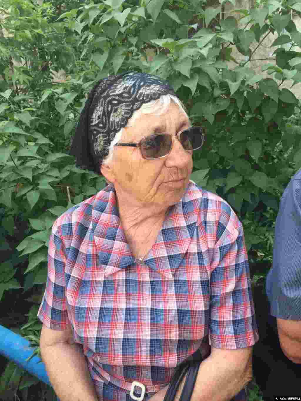 Двоюродная сестра Николая Онищенко. 8 июня 2016 года.