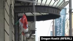 """Vlada Srbije je 2018. godine donela zaključak o prestanku prava Ministarstva odbrane na korišćenje zgrade hotela Bristol koja je pripala kompaniji """"Beograd na vodi"""""""