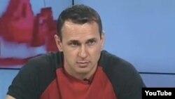 Олег Сенцов, архівний відеокадр
