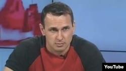 Кинорежиссер Олег Сенцов, арестованный ФСБ