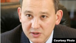 Мухтар Джакишев в бытность президентом «Казатомпрома». 2 апреля 2009 года.