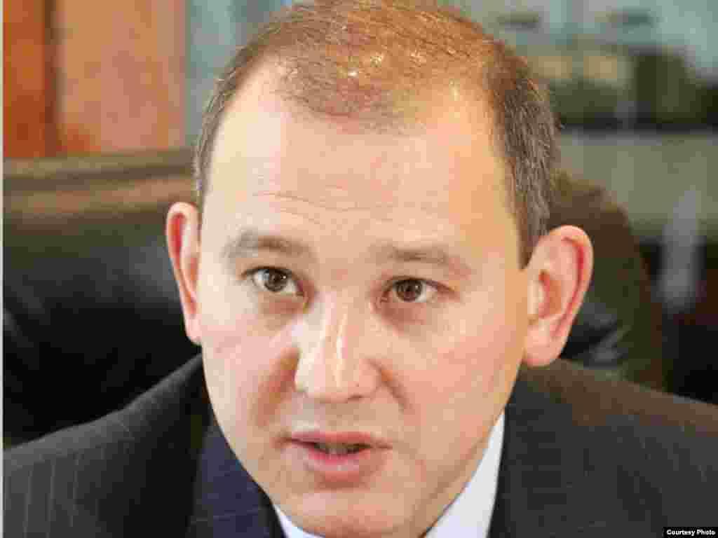 Kazakhstan - Mukhtar Dzhakishev, Zhakishev. President of Kazatomprom company. 02Apr2009