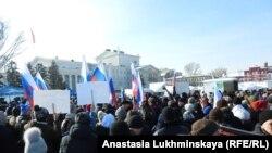 Митинг за отставку губернатора Саратовской области, Саратов, 10 февраля