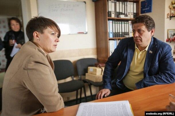Тацяна Караткевіч зь Мікалаем Казловым