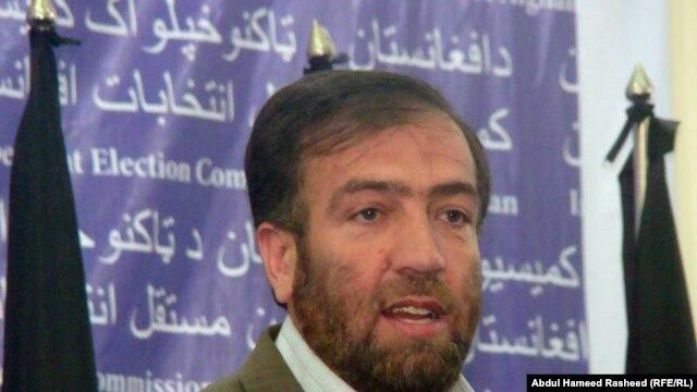 فضل احمد معنوی رییس کمسیون مستقل انتخابات