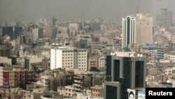 Iran -- A general view of Tehran's cityscape, 22Feb2010