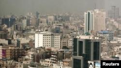 Iran -- A general view of Tehran's cityscape, 22Feb2010