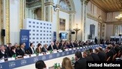 نشست لندن در مورد بحران لیبی