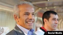 محمد خاکپور سرمربی تیم ملی فوتبال امید ایران