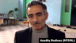 Moskwada adam öldürmekde güman edilýän Orhan Zeýnalowyň kakasy Zahid, 16-njy oktýabr, 2013.