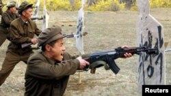 Солдаты северокорейской армии. Иллюстративное фото.