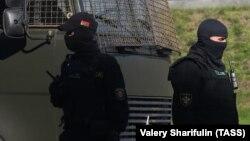 Минские правоохранители, архивное фото