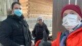Волонтер Святослав Лезин из Петрозаводска