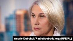 Зоя Казанжи, одеська блогерка, у студії Радіо Свобода