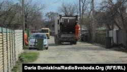 Вивіз сміття у мікрорайоні «Дахнівський», Черкаси, 22 квітня 2013 року