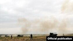 Azərbaycan ordusunun təlimləri,28 avqust 2015