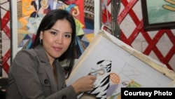 Гульназым Омирзаккызы, художник.