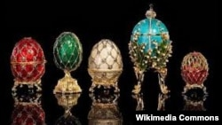 Знаменитые яйца, изготовленные компанией Fabergé