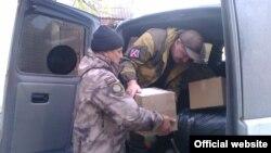 Самооборона Криму передала допомогу в «ЛНР»