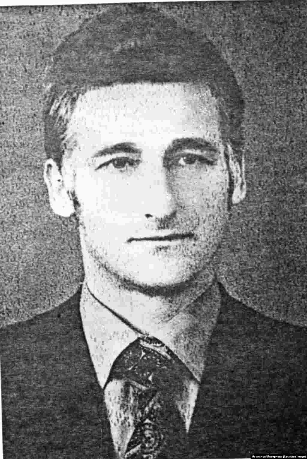 """ЭндельРатас (1938-2006) - член эстонского подпольного кружка """"Союз эстонских борцов за свободу"""", политзаключенный с 1959 по 1963."""