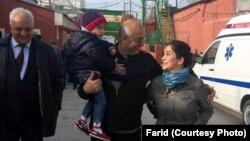 Həsən Hüseynli azadlıqda - 18 oktyabr 2014