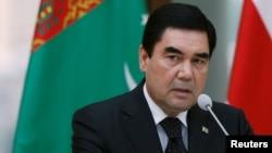 Президент Туркменистана Гурбангулы Бердымухамедов (архив)