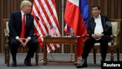 Встреча Дональда Трампа и Родриго Дутерте в Маниле, 13 ноября 2017 года