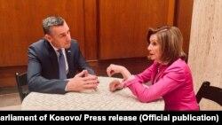 Kadri Veseli dhe Nancy Pelosi